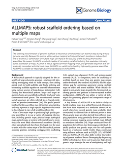 ALLMAPS: robust scaffold ordering based on multiple maps