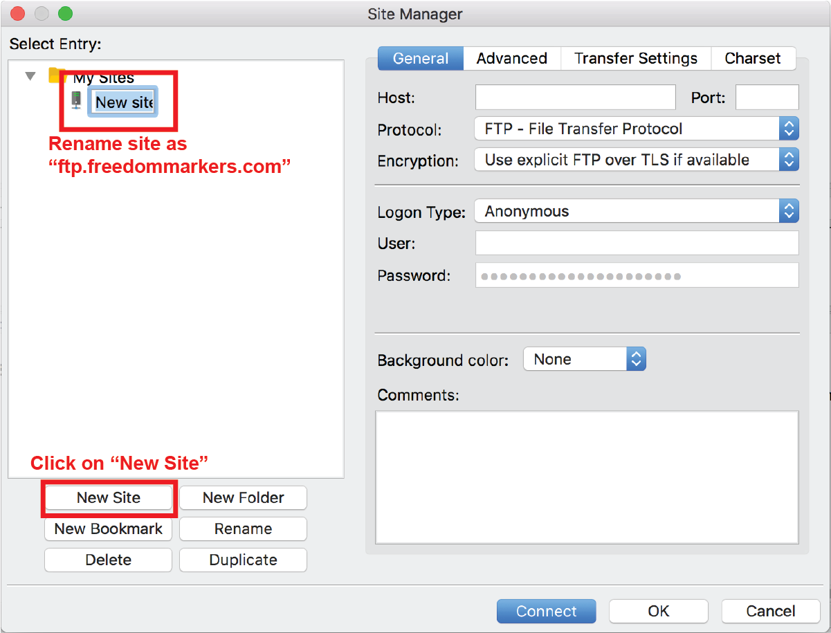 Freedom Markers - FTP (File Transfer Protocol) Guide ::